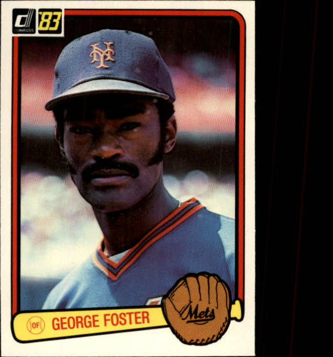 1983 Donruss #427 George Foster