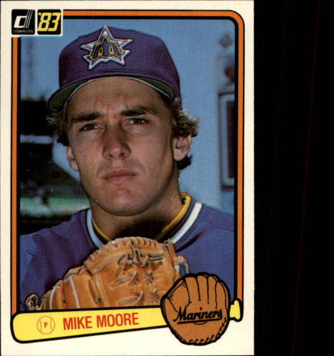1983 Donruss #428 Mike Moore RC