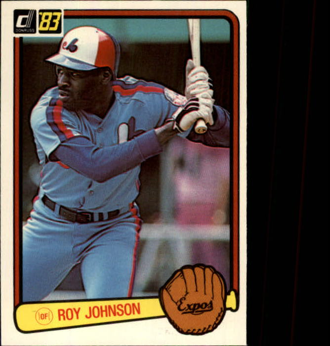 1983 Donruss #492 Roy Johnson