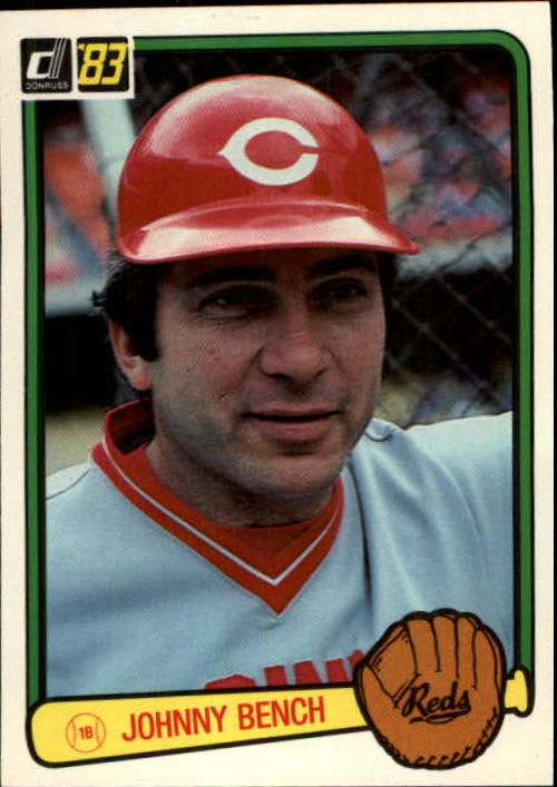 1983 Donruss #500 Johnny Bench