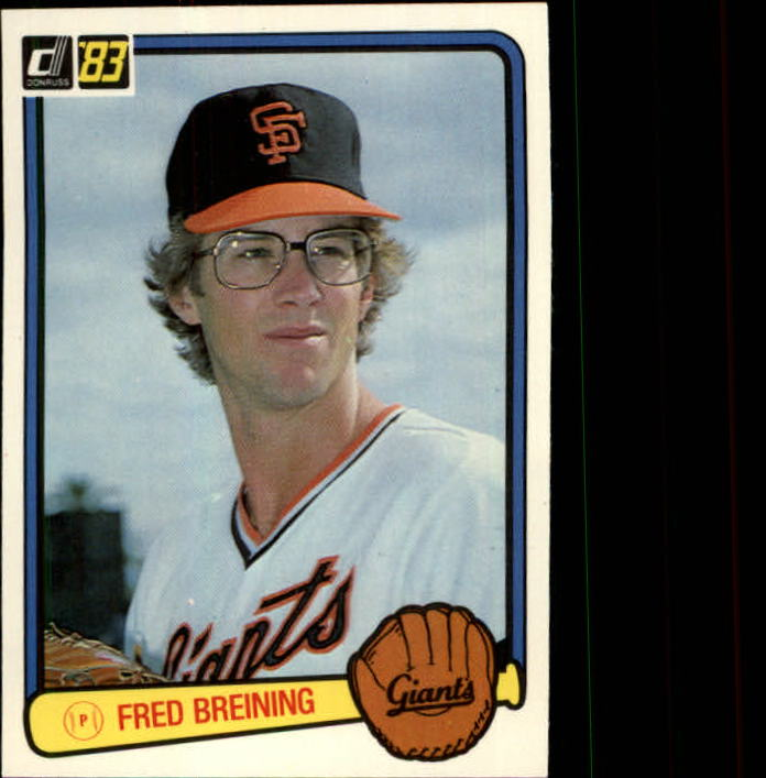 1983 Donruss #503 Fred Breining