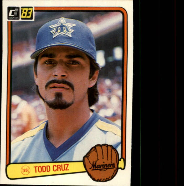 1983 Donruss #505 Todd Cruz