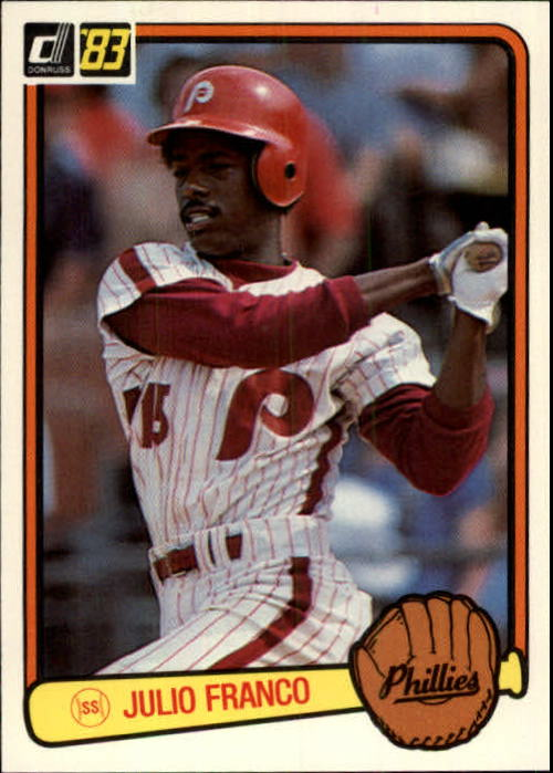 1983 Donruss #525 Julio Franco RC