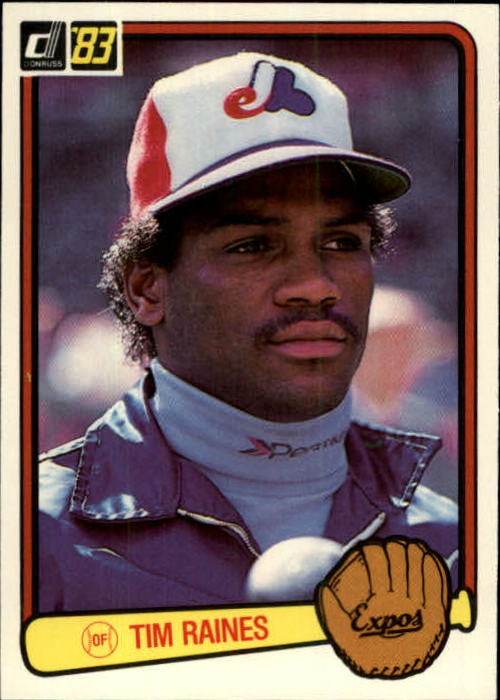 1983 Donruss #540 Tim Raines