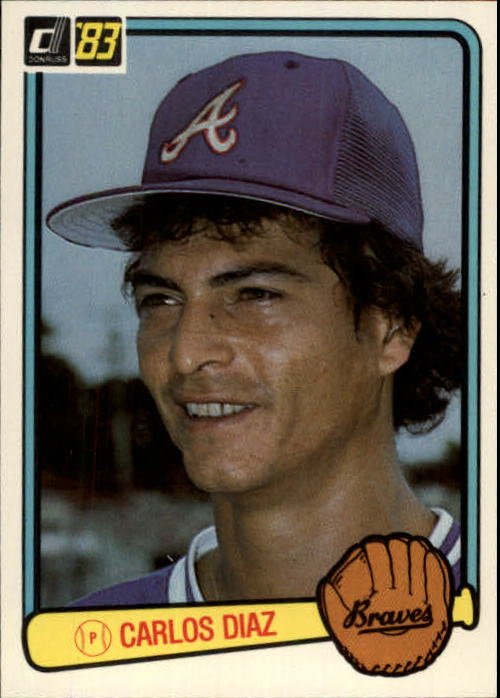 1983 Donruss #562 Carlos Diaz RC