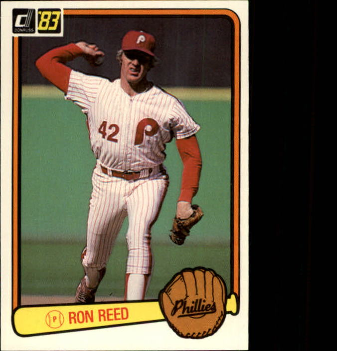 1983 Donruss #567 Ron Reed