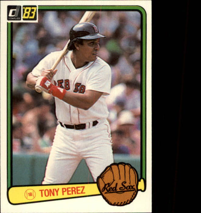 1983 Donruss #578 Tony Perez