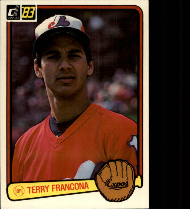 1983 Donruss #592 Terry Francona