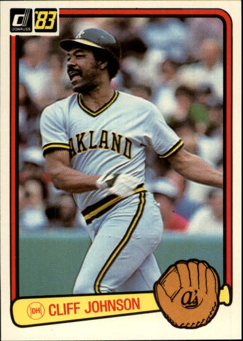 1983 Donruss #601 Cliff Johnson