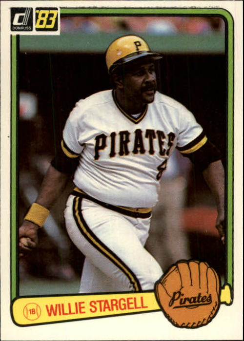 1983 Donruss #610 Willie Stargell