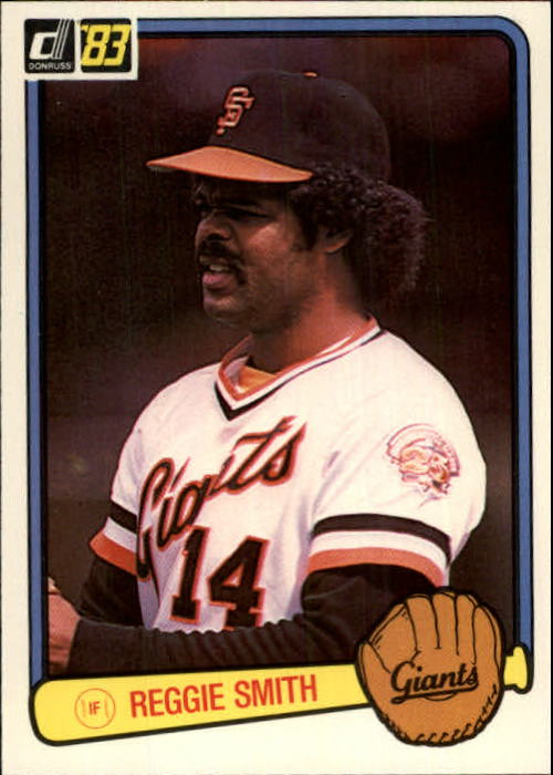 1983 Donruss #611 Reggie Smith