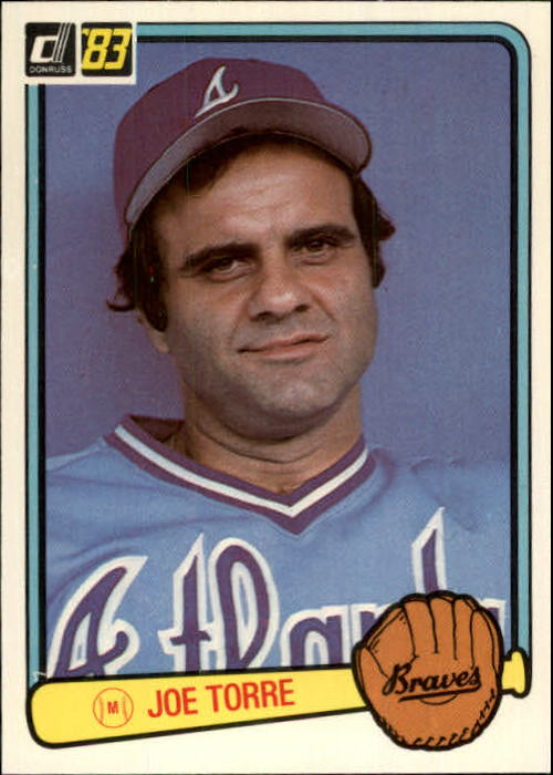 1983 Donruss #628 Joe Torre MG