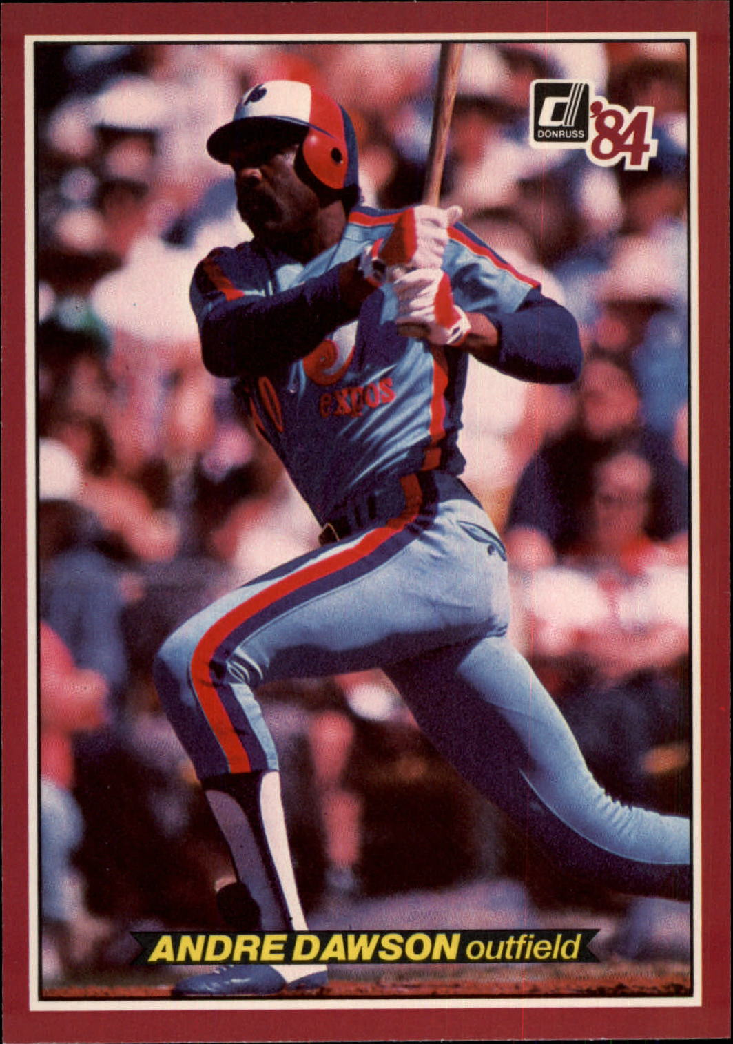1984 Donruss Action All-Stars #18 Andre Dawson