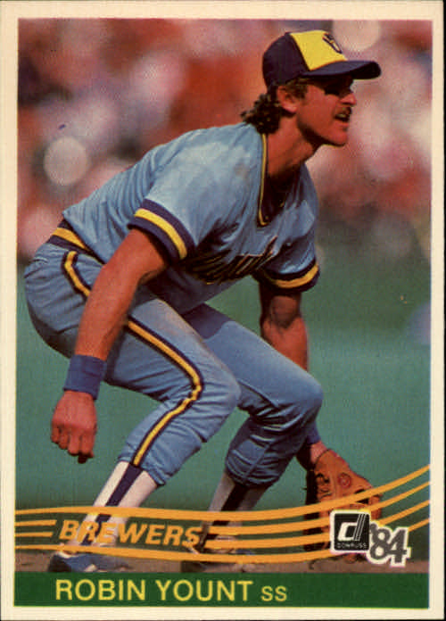1984 Donruss #48 Robin Yount