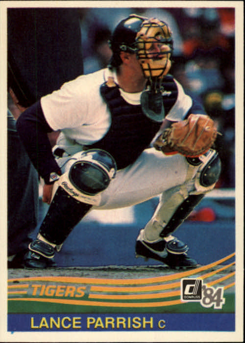 1984 Donruss #49 Lance Parrish