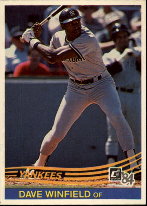 1984 Donruss #51 Dave Winfield