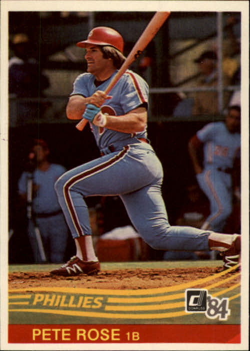 1984 Donruss #61 Pete Rose