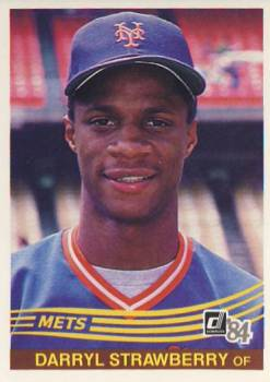 1984 Donruss #68 Darryl Strawberry RC front image