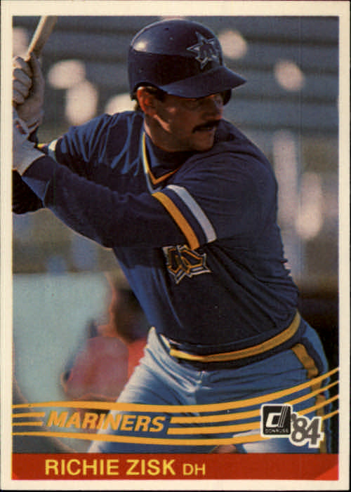 1984 Donruss #69 Richie Zisk