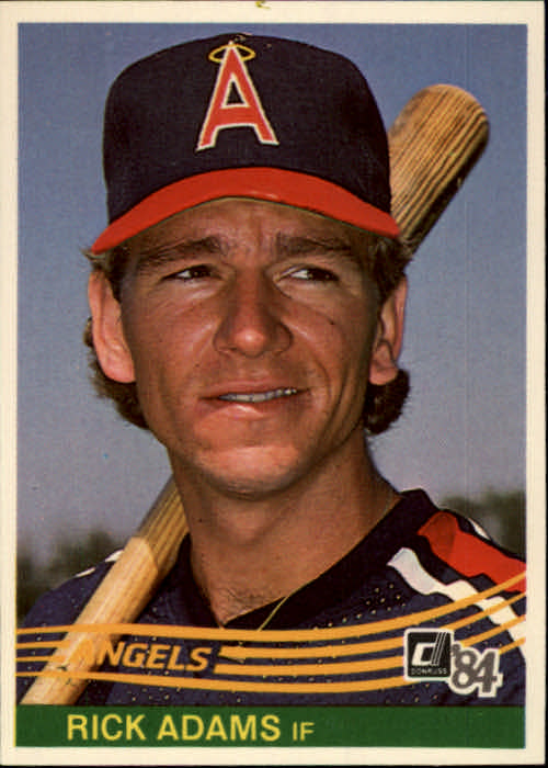 1984 Donruss #85 Ricky Adams