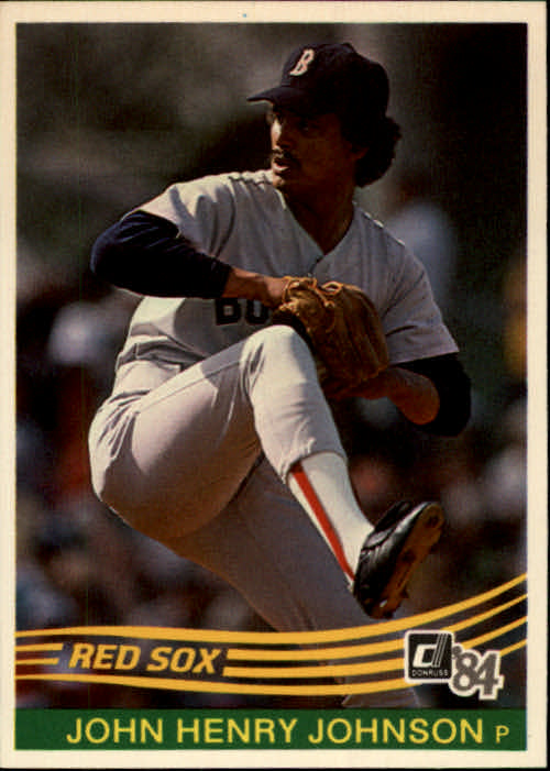 1984 Donruss #91 John Henry Johnson