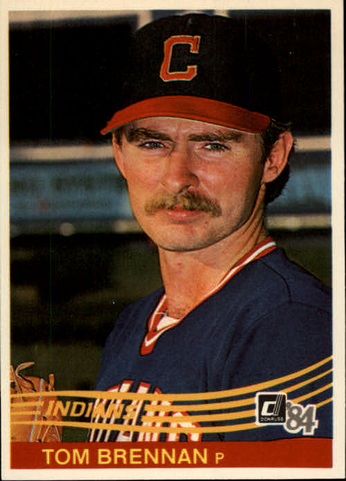 1984 Donruss #102 Tom Brennan