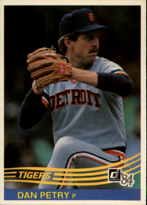 1984 Donruss #105 Dan Petry