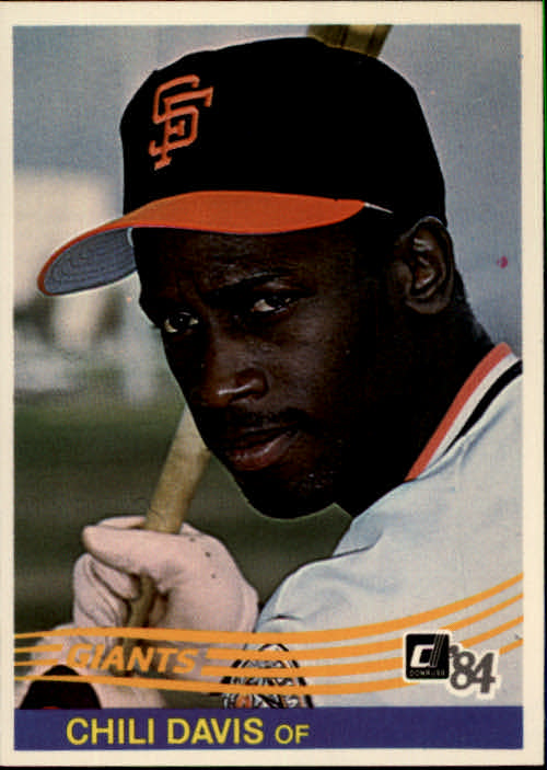 1984 Donruss #114 Chili Davis