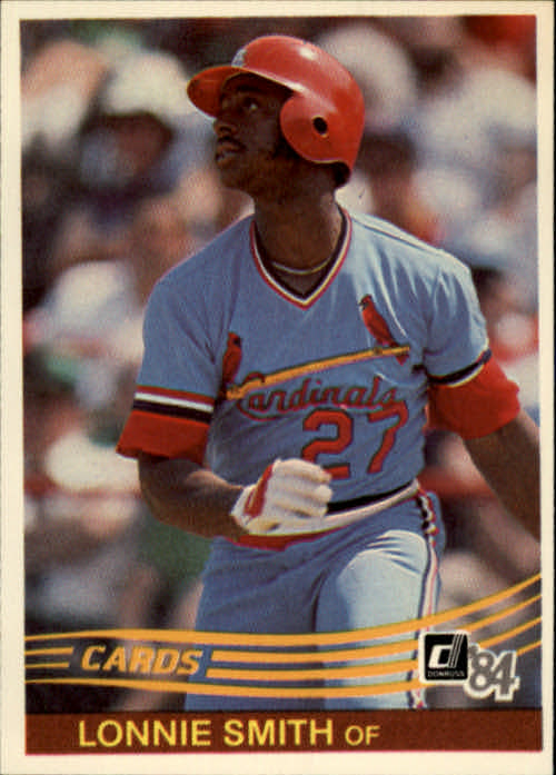 1984 Donruss #231 Lonnie Smith