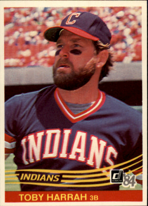 1984 Donruss #251 Toby Harrah