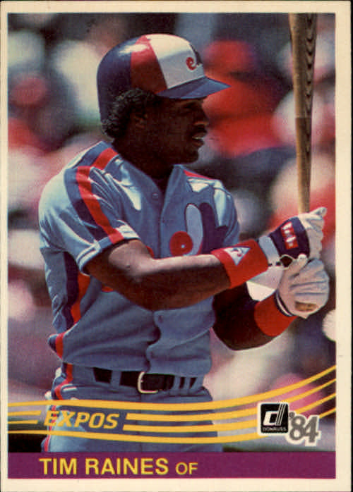 1984 Donruss #299 Tim Raines