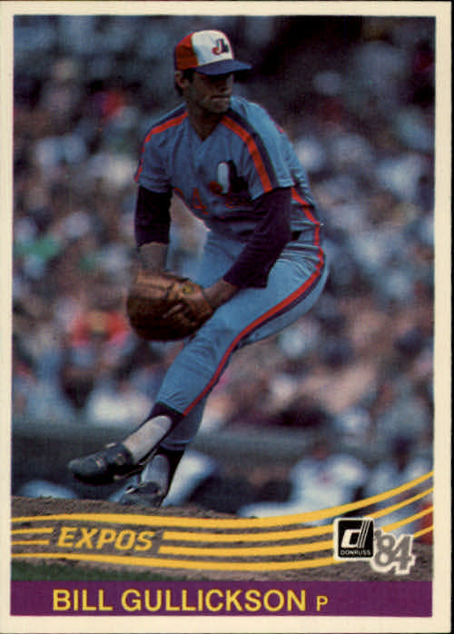 1984 Donruss #401 Bill Gullickson