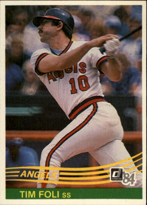 1984 Donruss #474 Tim Foli