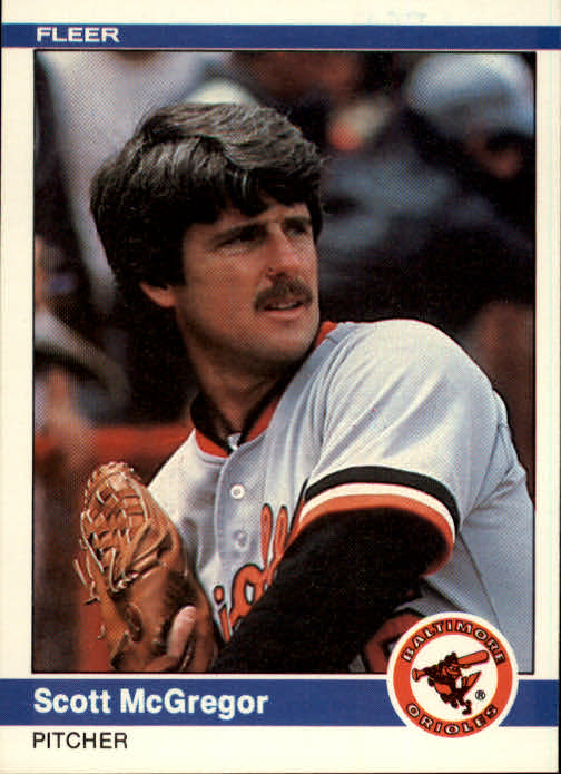 1984 Fleer #13 Scott McGregor