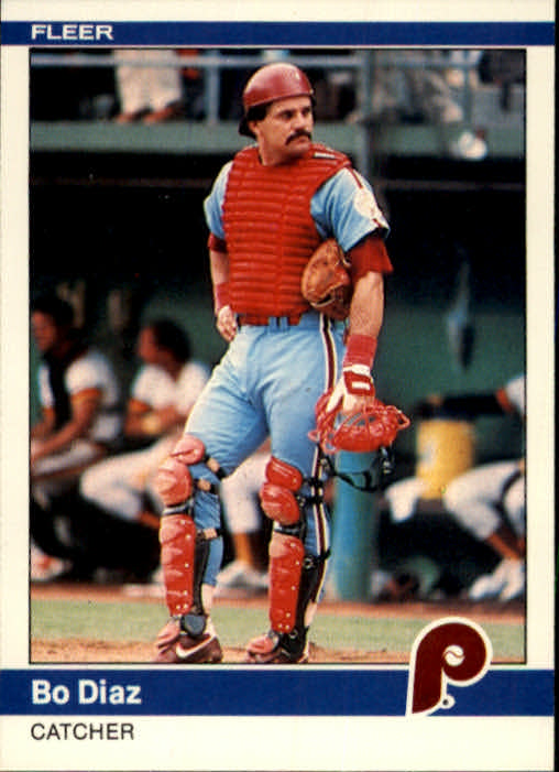 1984 Fleer #29 Bo Diaz