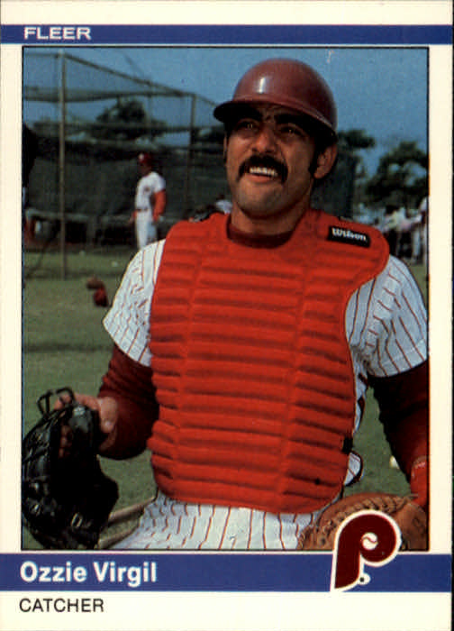 1984 Fleer #49 Ozzie Virgil