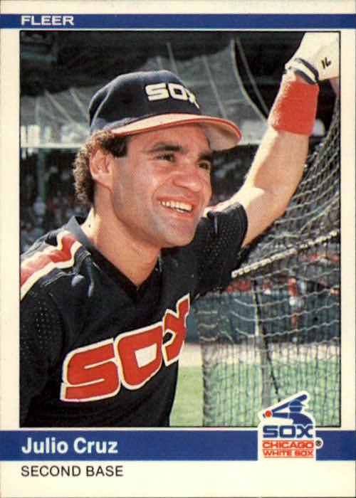 1984 Fleer #55 Julio Cruz