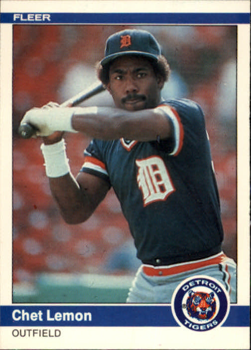 1984 Fleer #85 Chet Lemon