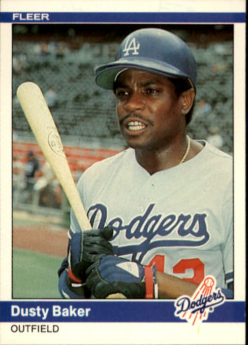 1984 Fleer #96 Dusty Baker