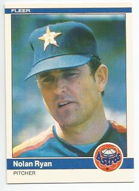 1984 Fleer #239 Nolan Ryan