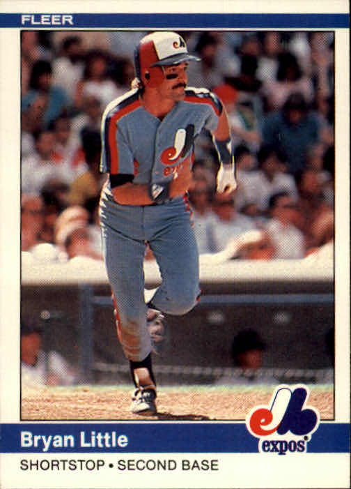 1984 Fleer #279 Bryan Little