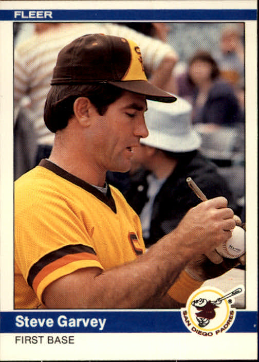 1984 Fleer #300 Steve Garvey