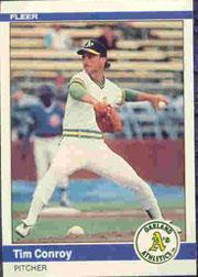 1984 Fleer #442 Tim Conroy