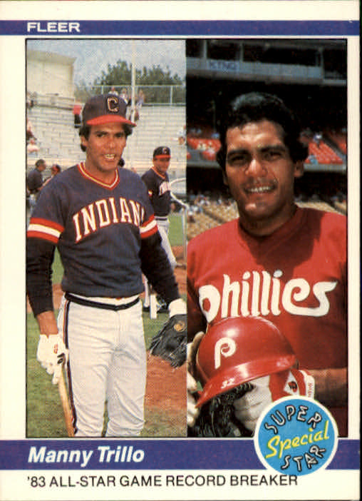 1984 Fleer #627 Manny Trillo/1983 AS Game RB