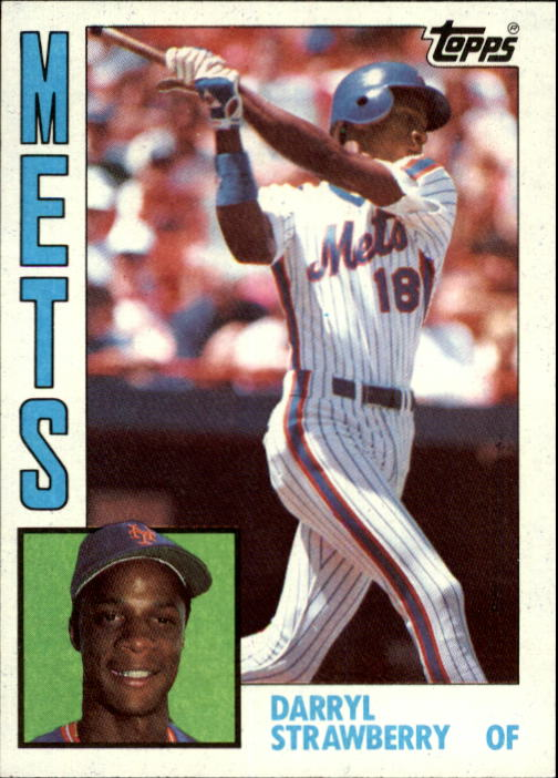 1984 Topps #182 Darryl Strawberry RC