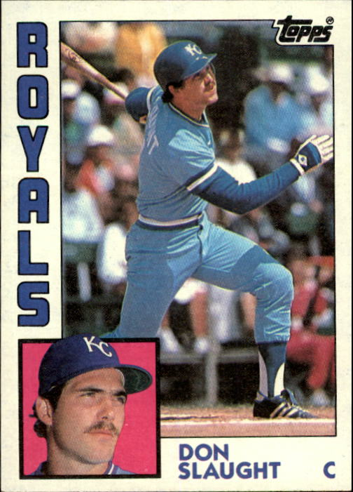 1984 Topps #196 Don Slaught