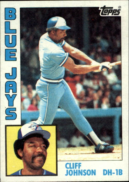 1984 Topps #221 Cliff Johnson