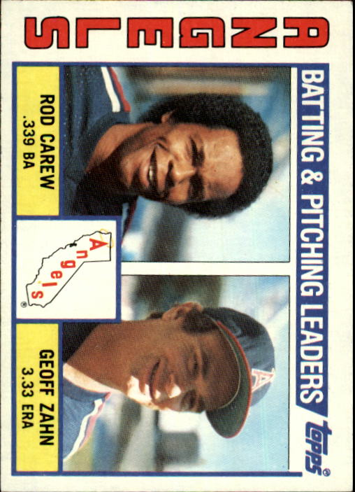 1984 Topps #276 Angels TL/Rod Carew