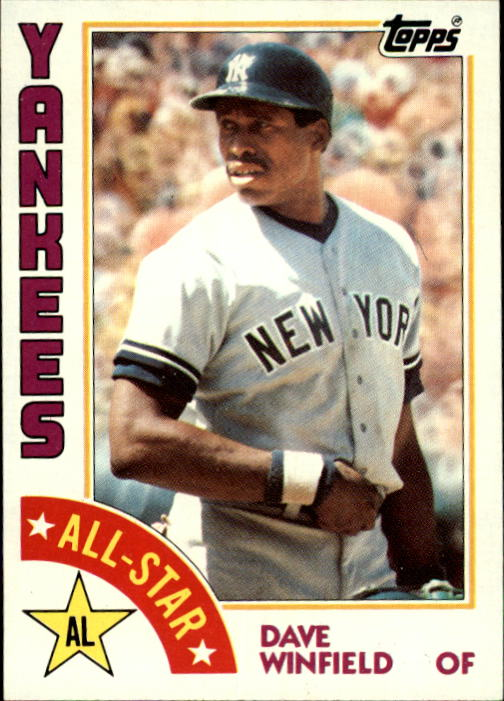 1984 Topps #402 Dave Winfield AS
