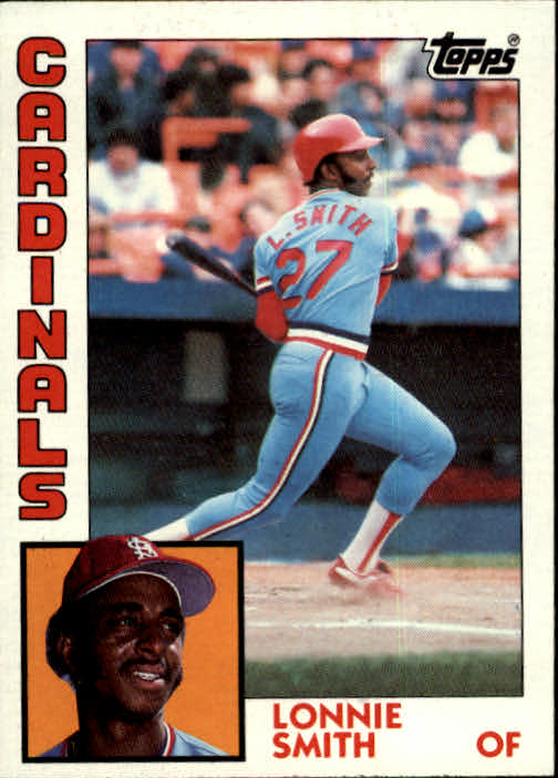 1984 Topps #580 Lonnie Smith